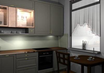 Kuchnia | projekt